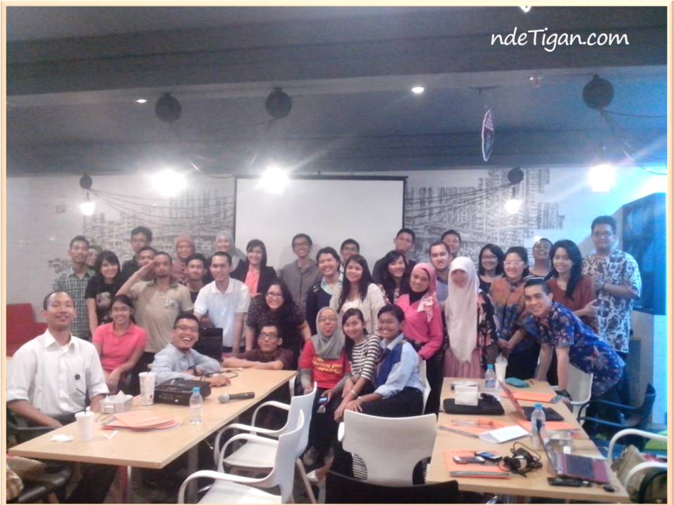 Peserta kelas AkberJKT di 4Fingers,FX Sudirman