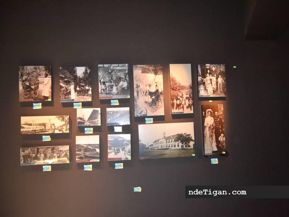 Suatu sudut museum Bank Indonesia
