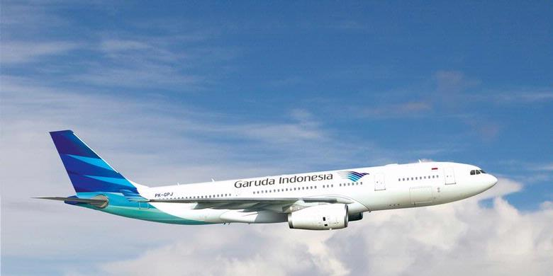 Garuda Indonesia           ( photo source: bisniskeuangan.kompas.com)