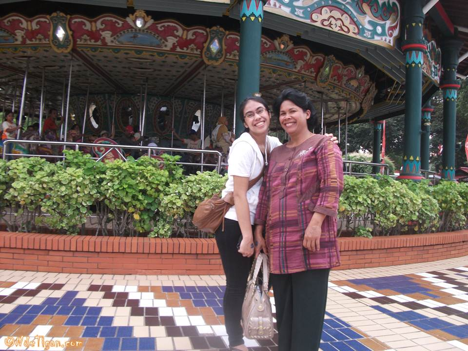With Mom :D