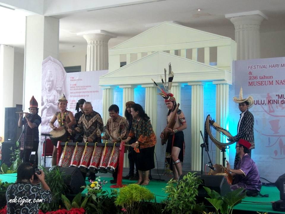 Peresmian Festival Hari Museum Internasional